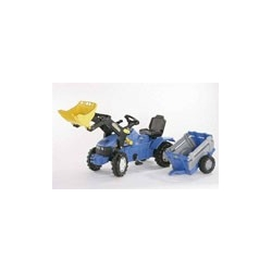 Rolly Toys - New Holland TM175 (met voorlader en NH Farmtrailer)